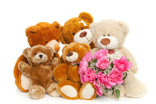 Flowers and Teddy Bears to Italy - Delivery flowers and cute tedy ...