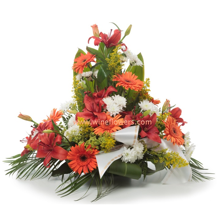 Fiori per funerale italy spedire consegnare corone for Disegni e prezzi del mazzo